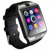 Розумні смарт годинник Smart Watch Phone Q18 Сірі