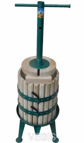 Прес дубовий для соку 25л. «Дачник Д-3», фото 2