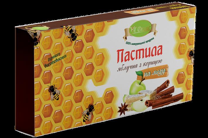 Пастила Яблочная с корицей на меду, фото 2