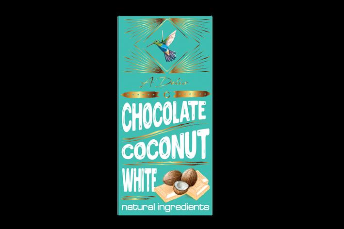 Белый шоколад с кокосом, фото 2