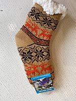 Дитячі Шкарпетки зимові фліс дитячі розмір 32-35 в асортименті