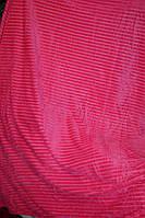 Полуторное велюровое покрывало East Comfort розовое