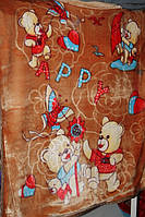 Дитяче покривальце East Comfort коричневе
