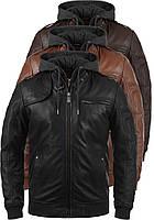 Кожаная куртка MAN SOLID