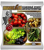 """Зеленый щит """"Микал М""""   30г для винограда, томатов, лука, картофеля"""