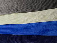 Двуспальное велюровое покрывало East Comfort разные окрасы