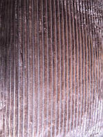 Велюрове покривало Євро розміру баклажан
