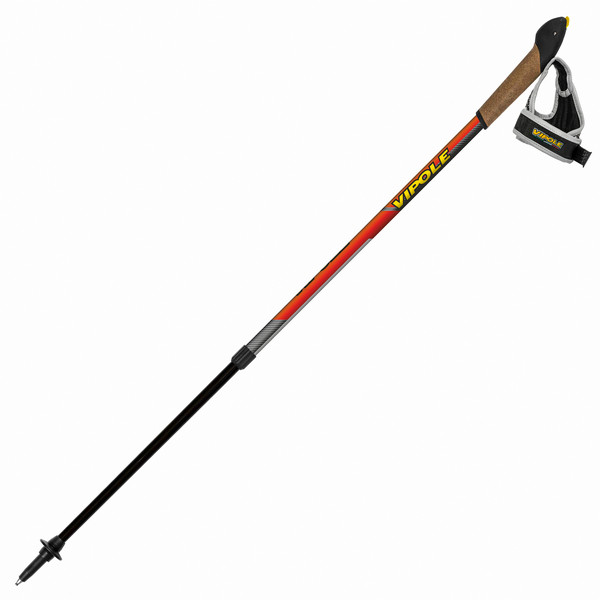 Палки для скандинавской ходьбы Vipole Instructor Vario Top-Click Red DLX S1855
