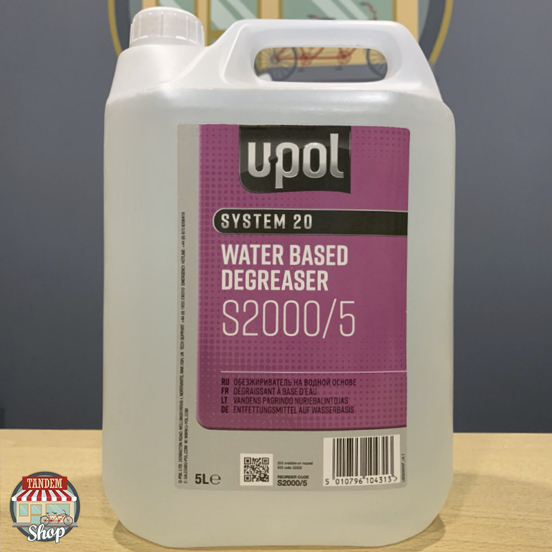 Обезжириватель на водной основе U-POL S2000, 5 л