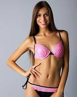 Купальник раздельный женский бикини на завязках Anabel Arto Софи Розовый