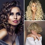 Тройная плойка для волос Rozia Германия, щипцы для волос, фото 5