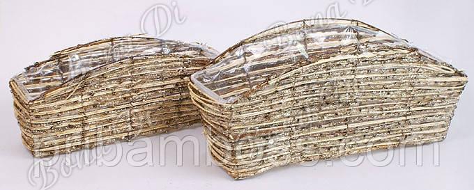 Набор корзинок из ратана (2шт), 32см, 39см