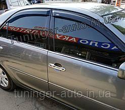 Дефлекторы окон (Ветровики) Toyota Camry 30 2001-2006 (Hic)