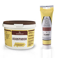Шпатлевка акриловая, Ecostucco Махагон, 1 кг.