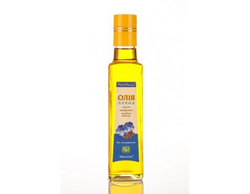 Льняное сыродавленное масло 250