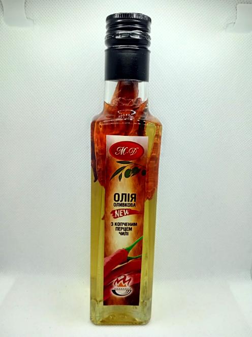 Оливковое масло с копченым перцем чили