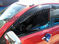 Дефлекторы окон (Ветровики) Mitsubishi L200 2006-2015 (ANV-air)