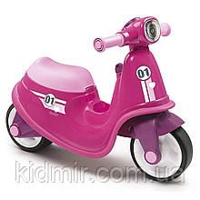 Беговел скутер каталка Рожевий Smoby 721002