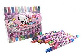 Детские мелки для рисования MK 4392 пастельные ( 4392-K (Hello Kitty))