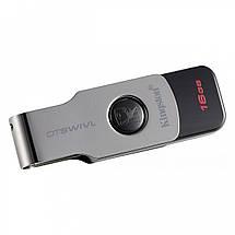 Флеш-пам'ять USB Kingston DataTraveler DTSWIVL (16GB, USB 3.1), фото 2