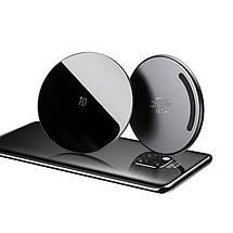 Бездротове зарядний пристрій Baseus Simple Wireless Charger CCALL-CJK01 (Чорне), фото 2
