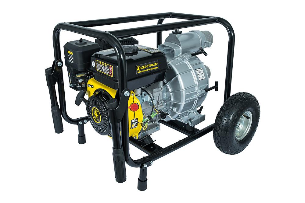 Мотопомпа бензиновая Кентавр КБМ-80ГКР ( для грязной воды, 60 м. куб/час) Бесплатная доставка !