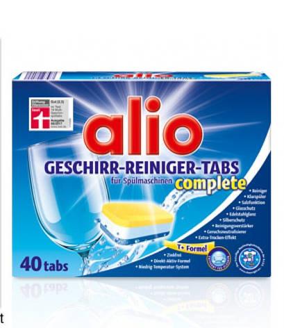 Таблетки для посудомойки Alio Geschirr-reiniger-tabs complete 40 шт, фото 2