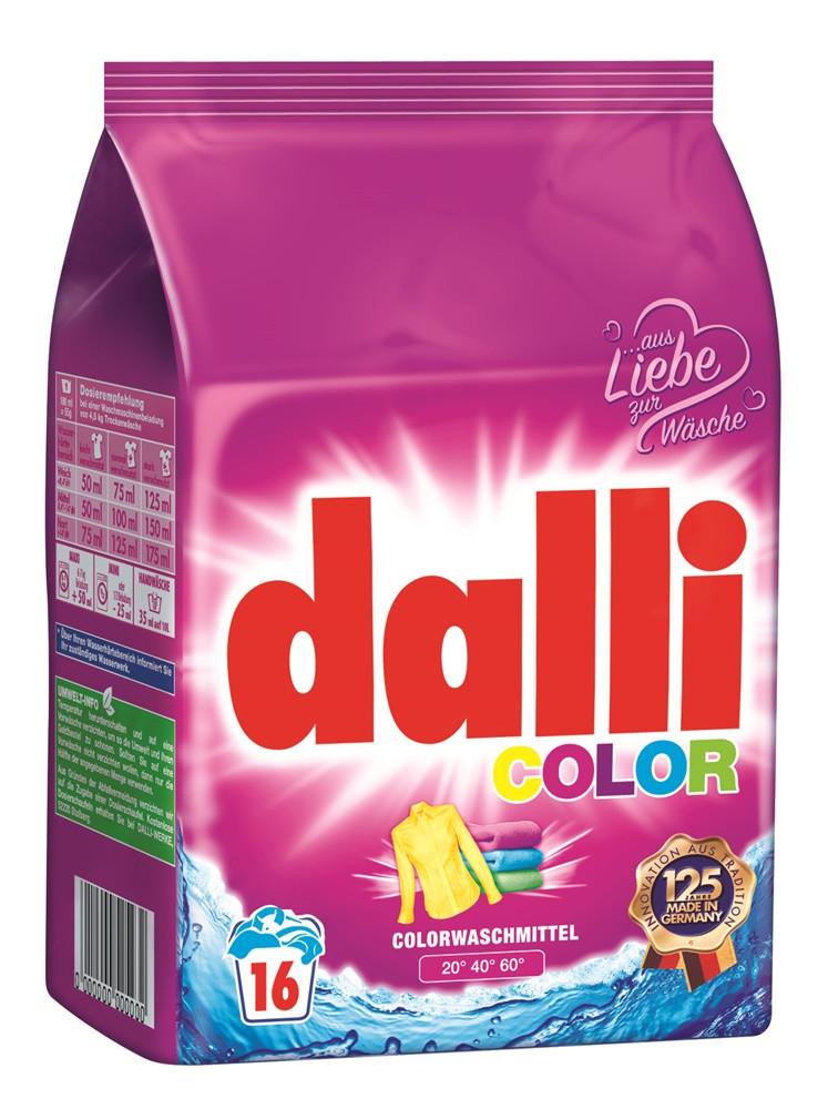 Бесфосфатный стиральный порошок 16 стирок Dalli Color