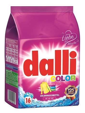 Бесфосфатный стиральный порошок 16 стирок Dalli Color, фото 2