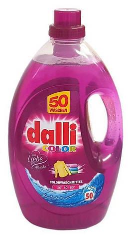 Бесфосфатный стиральный гель 50 стирок Dalli Color, фото 2