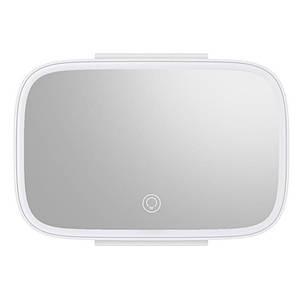 Зеркало на козырек с LED подсветкой Baseus Delicate Queen Car Touch-up CRBZJ01-02 (Белое)