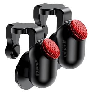 Ігровий контролер (джойстик, тригер) Baseus Red-Dot Mobile Game Scoring Tool ACHDCJ-01 для смартфона (Чорний)