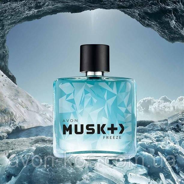 Туалетная вода Avon Musk Freeze  (75 мл)
