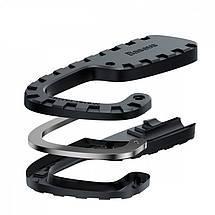 Многоцелевой эластичный шнур с крючками Baseus Multi Purpose Elastic Clothesline ACTLS-01 (Черный), фото 3