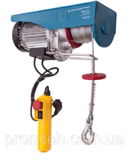 Электрическая лебедка Kraissmann SH 300/600