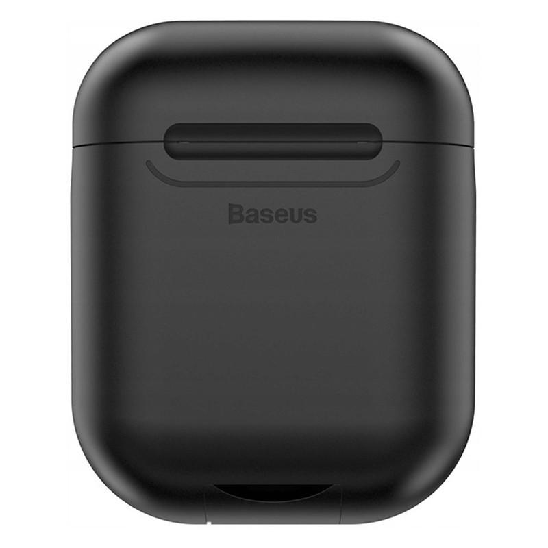 Силиконовый чехол с беспроводной зарядкой для зарядного кейса AirPods Baseus Wireless Charger WIAPPOD-01