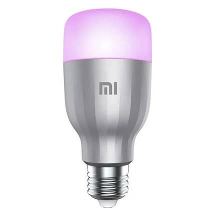 Розумна лампа Xiaomi Yeelight LED WiFi Colorful Smart Bulb E27 (YLDP02YL/GPX4002RT), фото 2