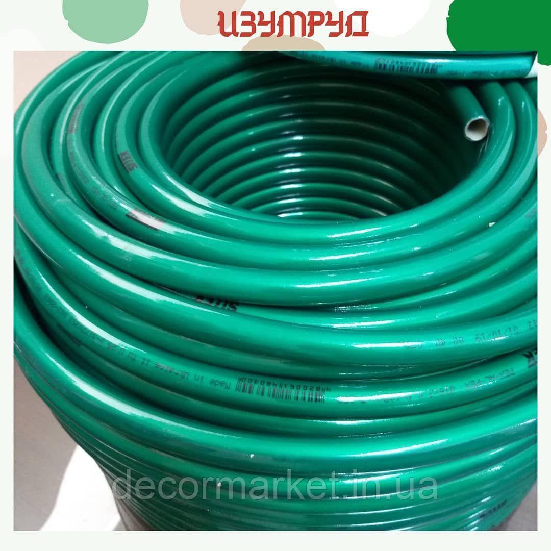 Труба м/п зеленая изумруд 20 мм