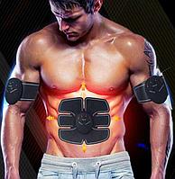 3 в 1 EMS TRAINER ОРИГИНАЛ - миостимулятор  мышц пресса -  живота, рук, пояс для пресса + бицепс стимулятор