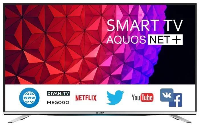 Телевизор Sharp LC-55CFG6452E (Full HD/ Smart TV / 400Hz / DVB-С/T2/T/S/S2)