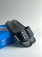 Шлёпанцы (Тапки) Adidas Black, фото 1
