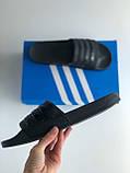 Шльопанці (Капці) Adidas Black, фото 2