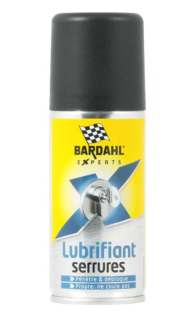 Аэрозольная смазка для замков и петель BARDAHL LUBRIFIANT SERRURES (100мл)