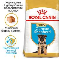 Корм для щенка немецкой овчарки до 15 мес.  ROYAL CANIN GERMAN SHEPHERD PUPPY, 12кг