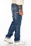 Джинсы мужские Franco Benussi 1127 синие, фото 7
