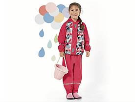 Костюм для девочки Lupilu водонепроницаемый розовый неутепленный р.110/116см