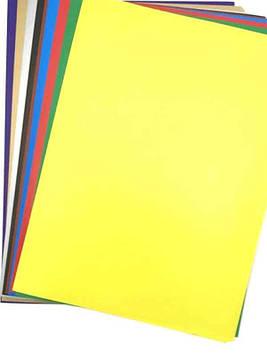 Цветная бумага А4 мелованная (9л) Дисней