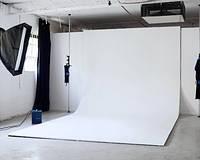 Фон белый 2,75x6 м матовый студийный виниловый и другие размеры