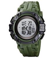 Мужские часы  Skmei 1545 Star Wars - Green ( 5 bar), фото 1