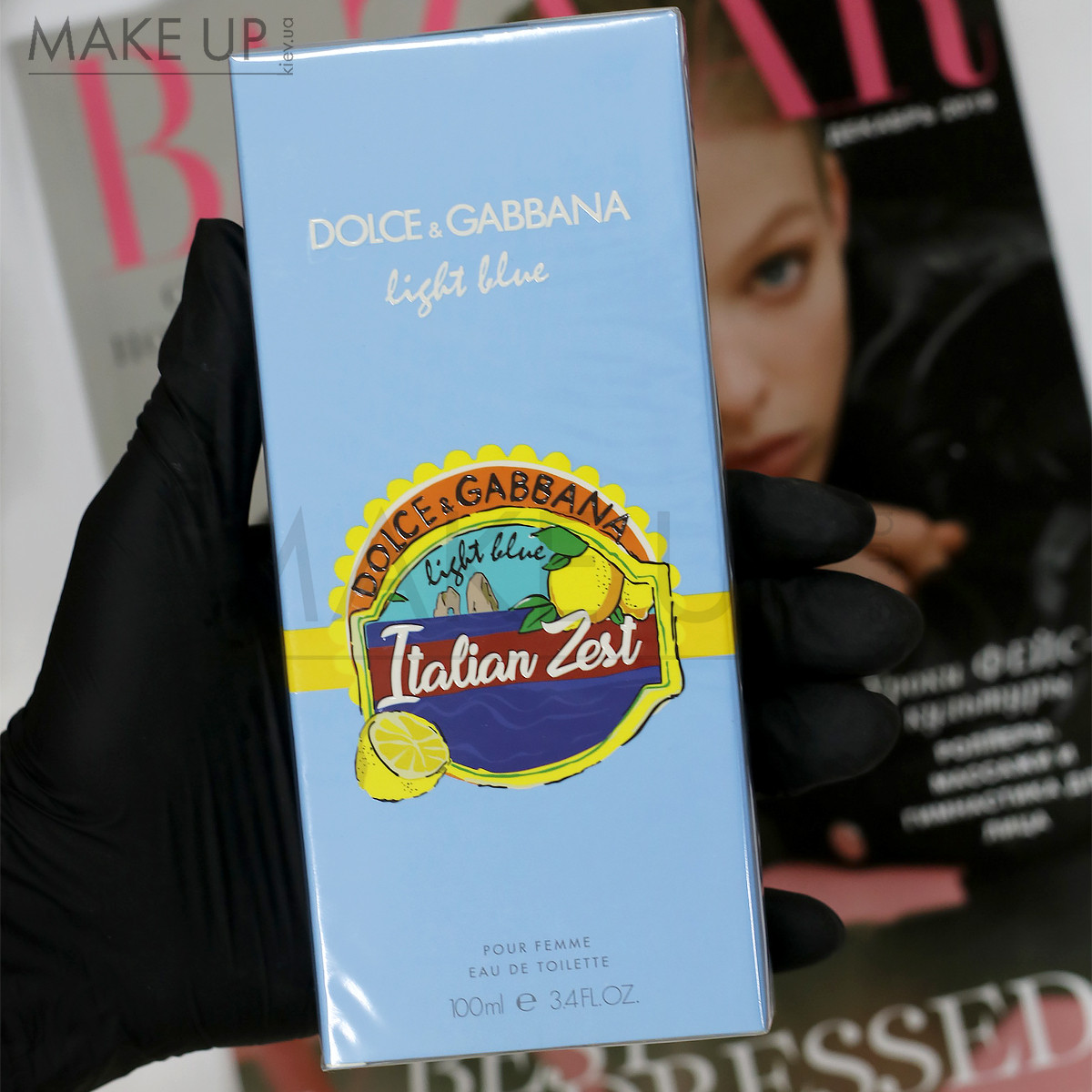 Женская туалетная вода Dolce Gabbana Light Blue Italian Zest Pour Homme edt 100 мл. | Лицензия Объединённые А